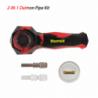 "Waxmaid 5.35"" Daimon 2 in 1 kit Nice PET box packing+Display Red Black"