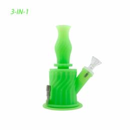 Bong 3 en 1 Waxmaid Verde...