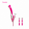 "Waxmaid 8"" Universal Traveler Water Bottle Pipe Pink Cream"
