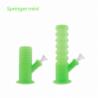 Bong Springer Mini Plegable Waxmaid Verde Fluorecente