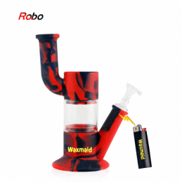 Bong Robo Waxmaid Rojo Negro