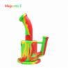 "Waxmaid 9"" Magneto S Honeycomb Percolator Water Pipe Rasta"