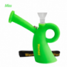 """Waxmaid 5"""" Miss Silicone Water Pipe Green"""