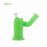 """Waxmaid 5.55"""" Sidecar Silicone Water Pipe GID Green"""