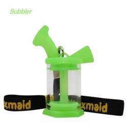 Mini Bong Bubbler Waxmaid...