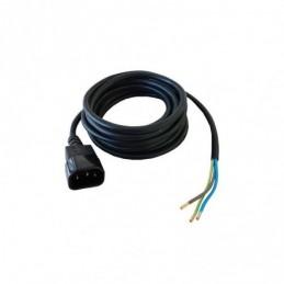 CABLE IEC MACHO 3 MT X 0,75 MM