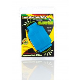 Smokebuddy JR blue glow in the dark